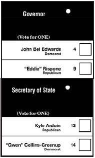 Gubernatorial Election Runoff This Saturday