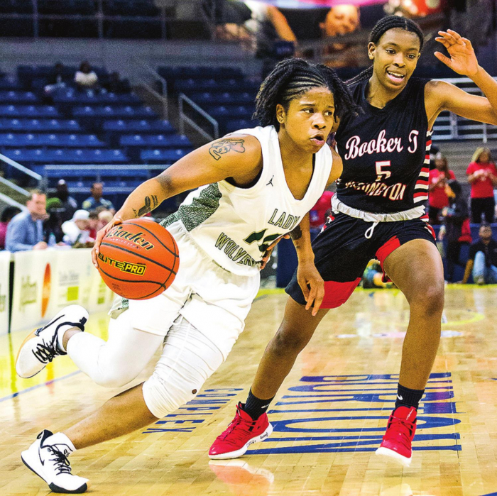 Lady Wolverines Bring Home State Runner Up Title in LHSAA Class 3A After Falling to NOLA's Booker T. Washington 36 - 44