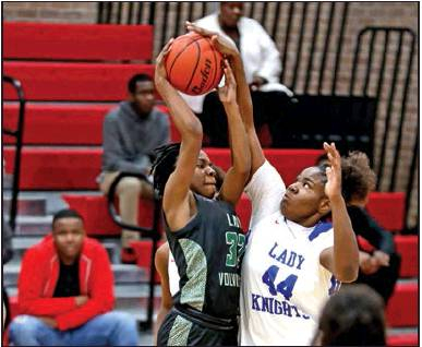 Lady Mansfield Wolverines Win 45 – 38 Over Woodlawn Lady Knights