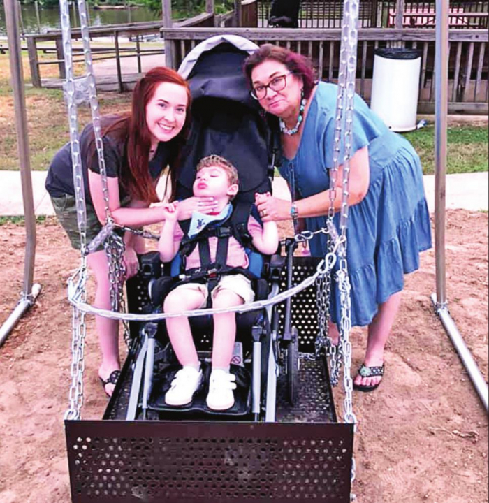 New Playground Equipment in Logansport for Physically Challenged
