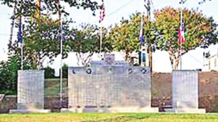 Remembering Those Who Gave the Ultimate Sacrifice; Veterans Memorial Wall in Logansport