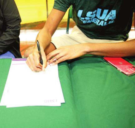 Mansfield High's Trenton Colbert Signs with LSUA Generals