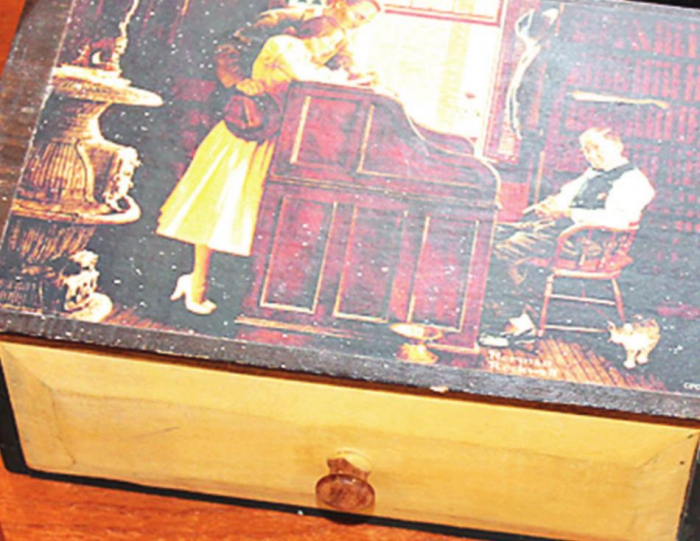 Norman Rockwell Items on Display at the Logansport Branch Library