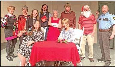 """""""Christmas Belles"""" will begin to Ring at BackAlley Theatre this Weekend"""