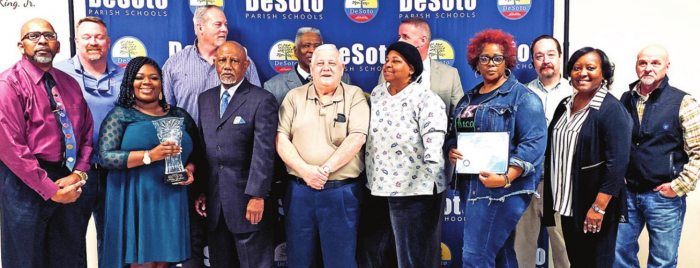DeSoto School Board Honors Students and Educators with Awards & Certificates