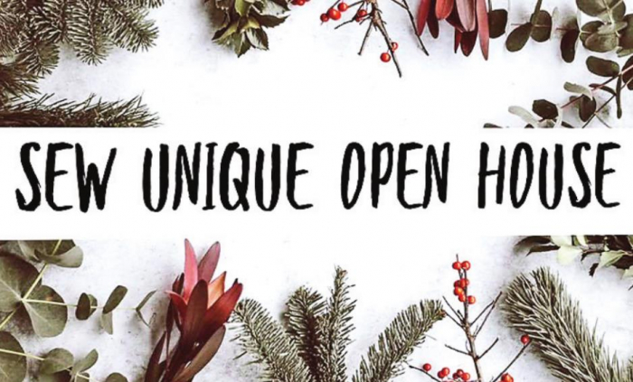 Sew Unique Monogramming and Boutique Announce Holiday Open House