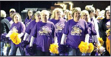 Logansport Celebrates Last Home Game of 2019 with Alumni Cheerleaders