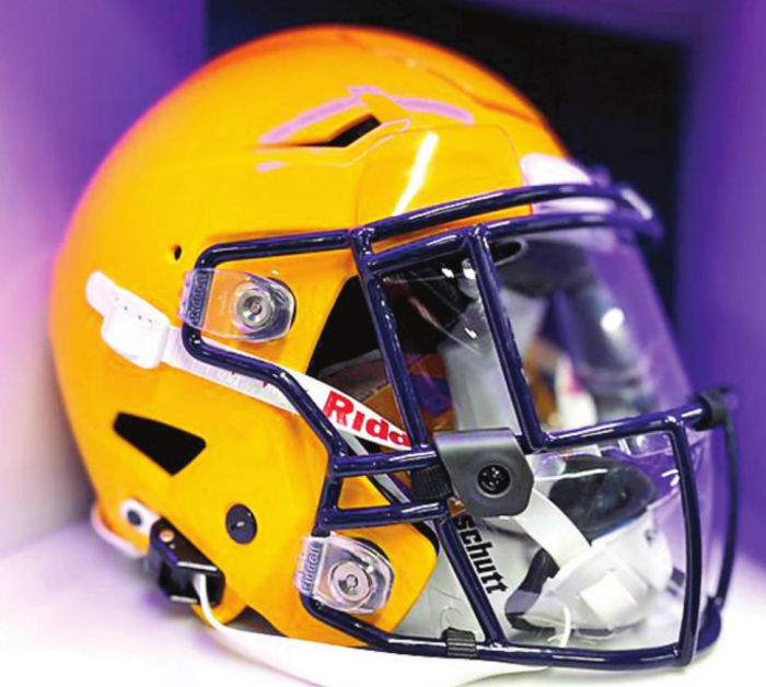 All About the Fans: New Helmet Tech Developed with LSU Tigers to Help Protect Players from Coronavirus r