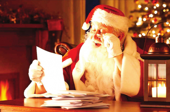 St. Nick Thrilled Over Enterprise's Special Santa Section & Pastor's Christmas Columns; Thank you, Sponsors!