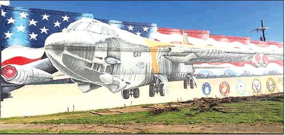 Mural Artist Completes Work of Art in Mansfield