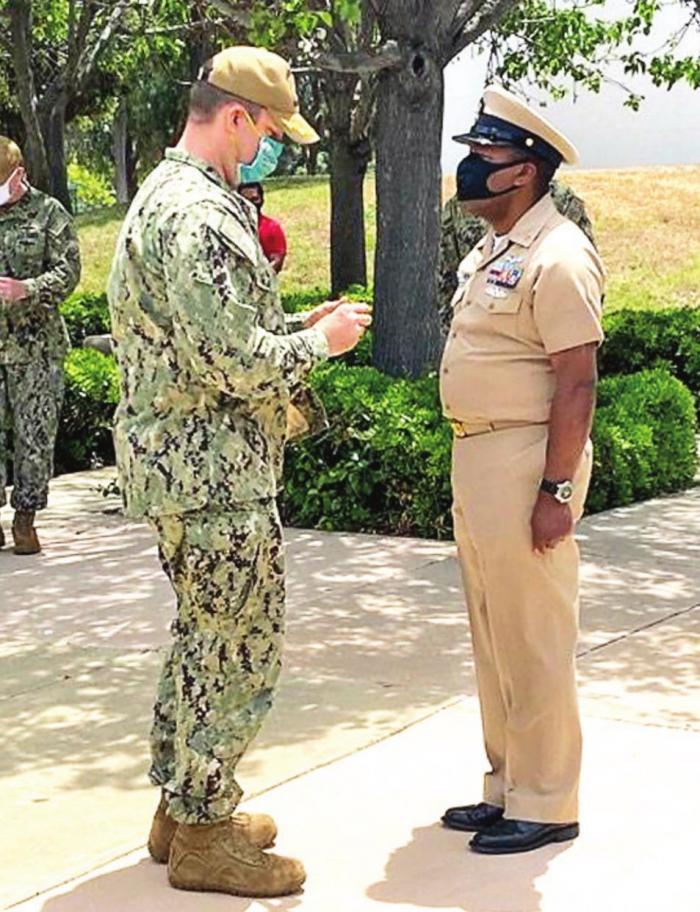 Mansfield Native Roosevelt Smith, Jr. Retires from U.S. Navy