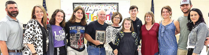 DPSO Honors Deputy Tommy Williamson with Retirement Party