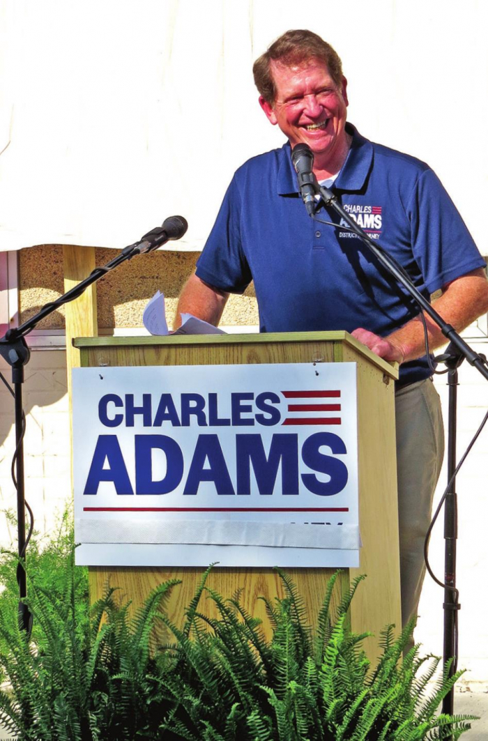 District Judge Charles Adams Retires as Judge, Announces Candidacy for District Attorney