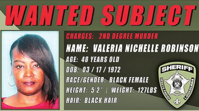 DPSO Searches for Valeria Robinson Regarding Recent Keachi Murder