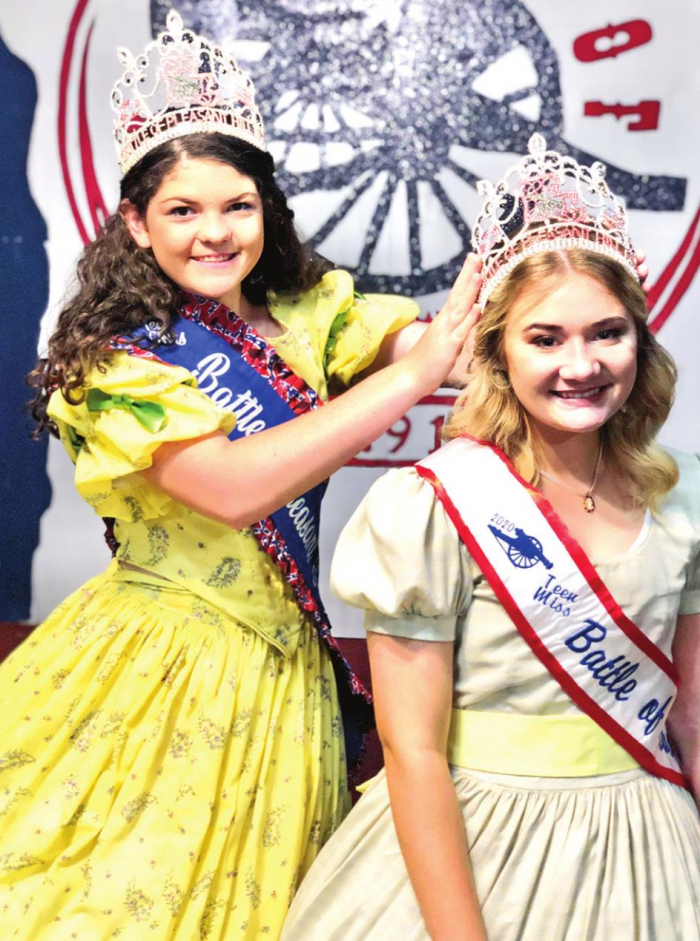 Miss Battle and Teen Miss Battle of Pleasant Hill Ready to Represent Community and History