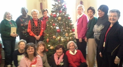 a redbird christmas by fannie flagg was the december books and biscuits book club selection the group members met at cook hill house on dec