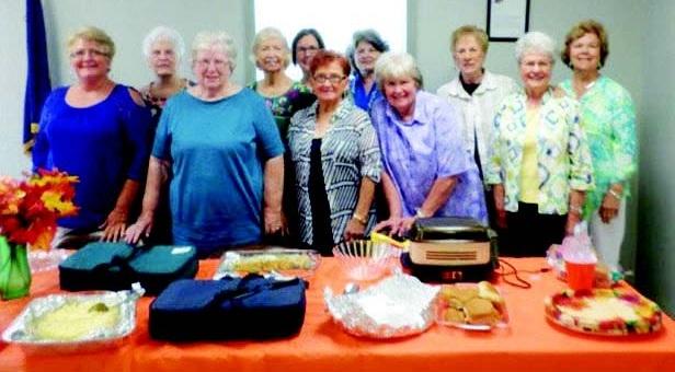 Stonewall Homemakers Club September Meeting Highlights