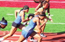 Joaquin's Victoria Byrd Region 3 Champion in 3 Events