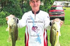 Many Bass Club's June