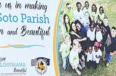 Keep DeSoto Beautiful Anti-Litter Billboards Go up in Parish