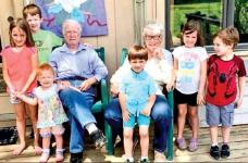 Bernard and Patsy Shadoin Celebrate 65th Wedding Anniversary