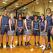 Stanley High School Senior Basketball and Cheerleaders
