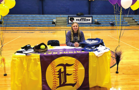 SHS Softball Standout Chloe Brouillette Signs with LSU-E