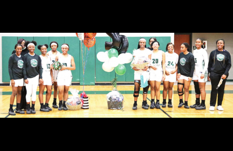 MHS Salutes Senior Wolverines and Lady Wolverines During Half-Time Ceremony