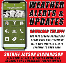 DPSO Reports Weather Alert and Update on Hurricanes in Gulf on App