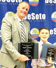 DeSoto School Board Announces School and Parish Students of the Year Recipients