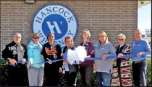Hancock-Whitney Bank Welcomed to Mansfield with Ribbon Cutting Ceremony
