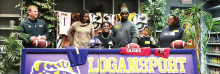 Logansport's Key'Selvian Barnes Signs with ULL
