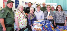 Bon Chase DAR Ladies Donate Snacks to DPSO on National Day of Service