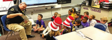 Logansport Elementary Students Celebrate Dr. Suess' Birthday