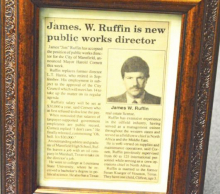 Public Works Director Jim Ruffin Retires After 30 Years of Dedicated Service