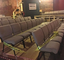 BackAlley Theatre Reopens for 20th Anniversary: Let There Be Lights! Cameras! Action!