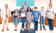 DeSoto Regional Heart & Soul Art Winners Named at School Board Meeting