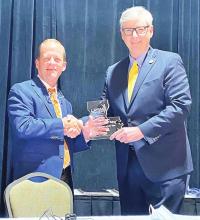 Rep. Larry Bagley Named Legislator of the Year by LPTA