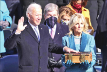 Joseph R. Biden, Jr. Takes Oath as 46th President of the United States