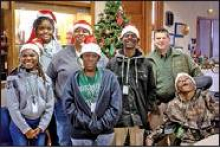 MHS Students Visit DPSO Spreading Christmas Cheer