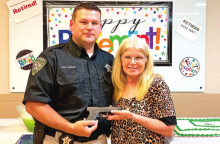 DPSO Honors Sgt. Elaine Pyles with Retirement Party
