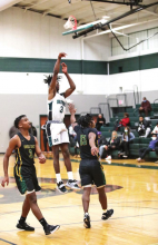Mansfield Wolverines Stomp Green Oaks Giants 52 to 32