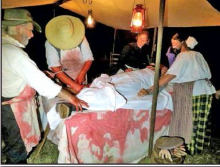 """Mansfield SHS Hosts 26th Annual """"Ghosts Of The Past"""" Nighttime Battlefield Tours"""