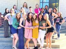 Joaquin High School Cheerleaders for 21-22