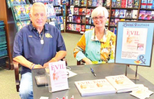 Authors Davidson and Jones Hold Book Signing Event at Barnes & Noble