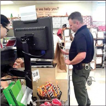 Capt. Adam Ewing Caught in the Act of Paying It Forward with Christmas Kindness