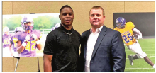 American State Bank Honors LHS Tiger Xavier Simpson