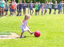 """DPSO and DFD 3 Host """"Ready to Rumble"""" Kickball Game"""