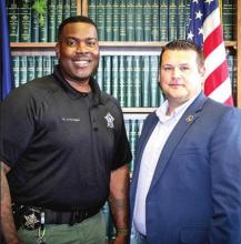 Sheriff Richardson Announces Promotion of Sgt. Coleman