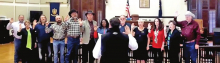 DeSoto Constables and JPs Take Oath of Office for 6 Year Term